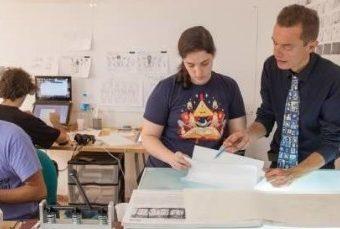 Arly Jones y Sami Natsheh abren el primer estudio de animación de la provincia de Alicante