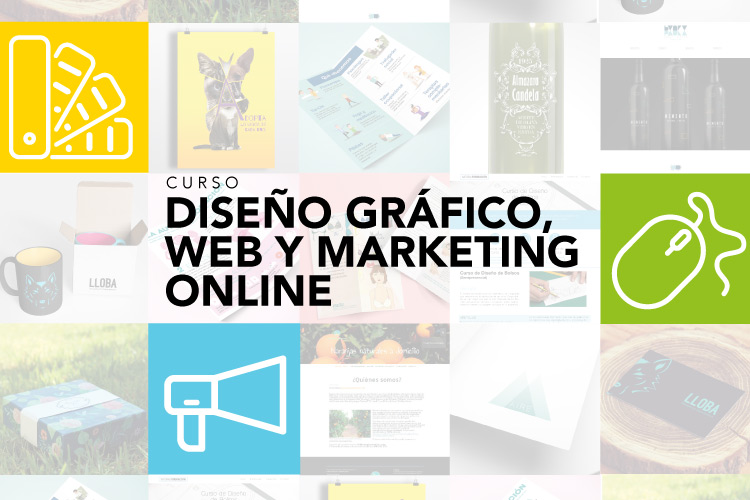 Curso Diseño Gráfico, Web y Marketing Online