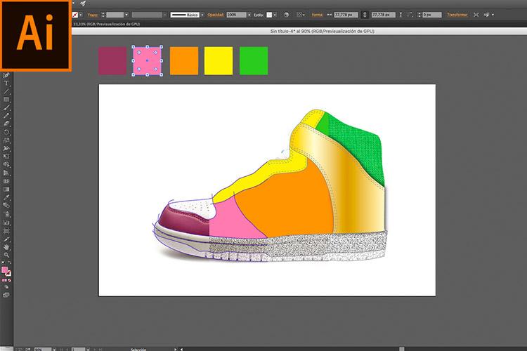 Curso Illustrator para Calzado