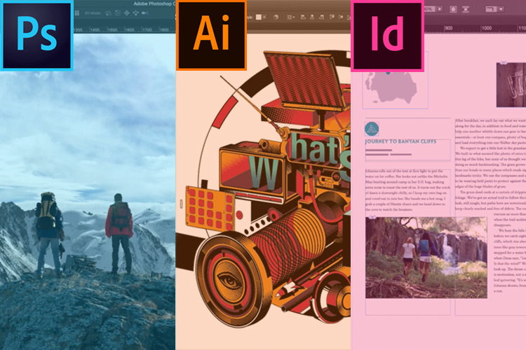 Curso Illustrator + Photoshop + InDesign