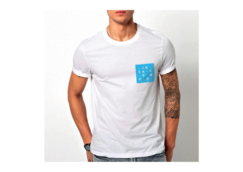 camiseta trabajo del curso de diseño en elche Alicante