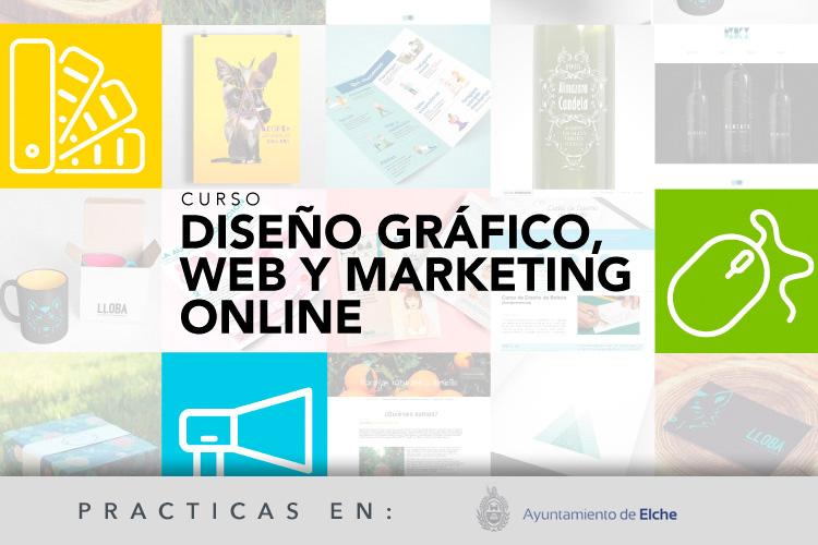 Experto en Diseño Gráfico, Web y Marketing Online