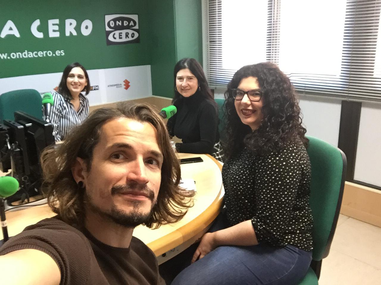 Entrevista en Onda Cero al equipo de Natural Formación