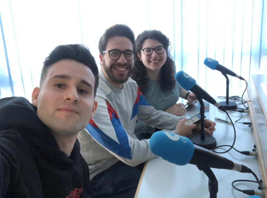 Entrevista a los alumnos de Natural Formación en radio Cope Elche