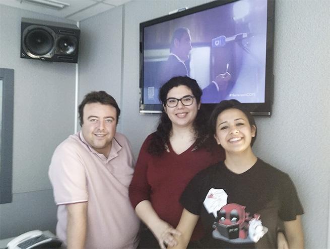 Entrevista a la alumna de Natural Formación Maria en radio Cope Elche